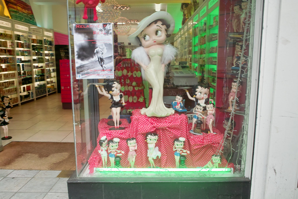 BETTY BOOP [unfortunately this shop has ceased trading]