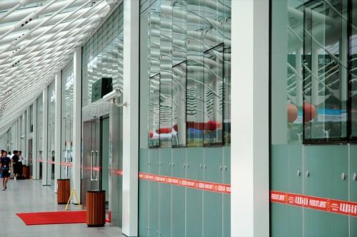 Domestic Terminal Facade