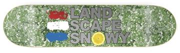 Landscape Snowy deck