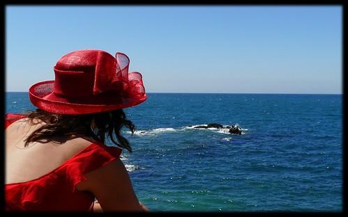 Mirando al mar...