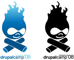 Drupal Camp Toronto 2008 Logo