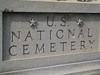 US National Cemetery Entrance