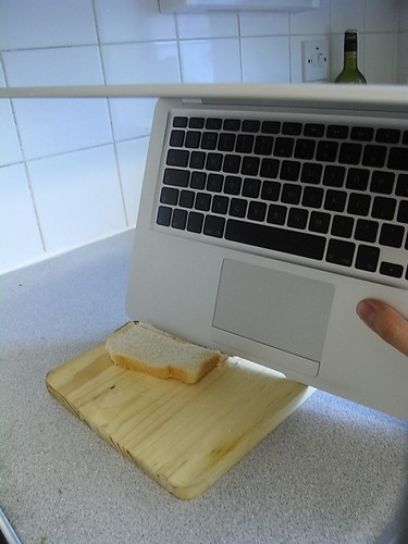 MacBook Air Slice Bread