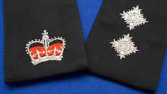 Could You Be a Leader in Greater Manchester Police? (Greater Manchester Police) Tags: epaulette bathstar crown uniform policeinsignia