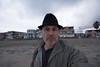 feeling gravitys pull (Super G) Tags: nikon298 sandiego california selfportrait scs color beach clouds overcast palm house dawn morninig sand hat en spc 2017