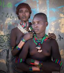 Etiopia (mokyphotography) Tags: etiopia southetiopia africa people persone portrait picture ritratto ragazze girs ethnicity etnia ethnicgroup tribù tribe tribal konso valledellomo omovalley village villaggio