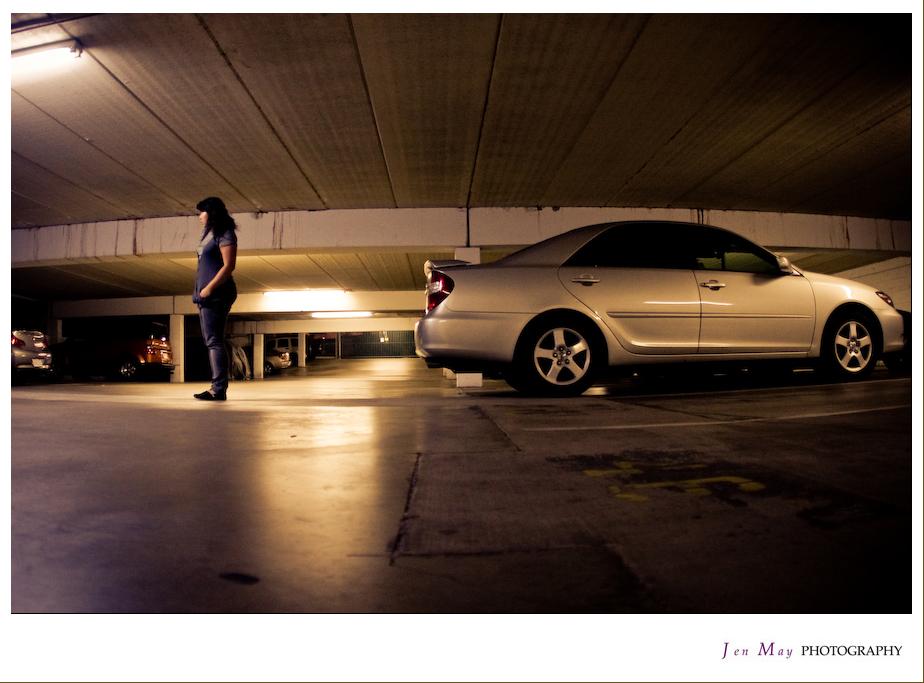Self-Portrait: Garage