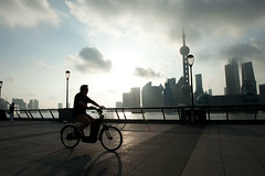 Morning on the bund, Shanghai China (samthe8th) Tags: sam d700 thepinnaclehof tphofweek97