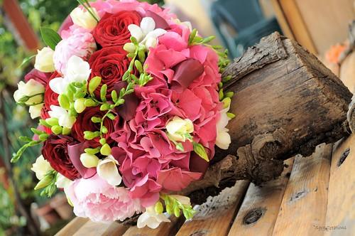buchet mireasa ( bridal bouquet )