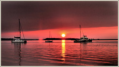 SUNSET OVER THE RIVER... (photogtom43) Tags: sunset florida sailboats fernandinabeach ameliaisland ameliariver nikond3100 nikon1855afsvrlens