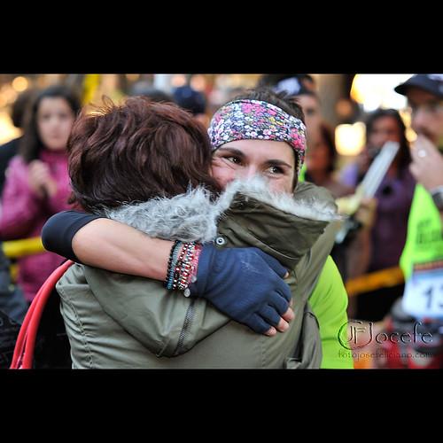 TRANSVULCANIA 2011: Vanessa Cabrera, ganadora Mediamaratón.