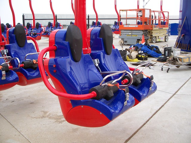 Cedar Point - WindSeeker Seats