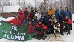 Photo representing Dog Sledding Tour, March 2014