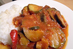 ratatouille on rice