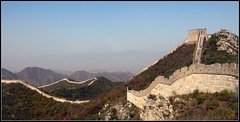 The Great Wall (Gustav Persson) Tags: china nature wall landscape asia long natur greatwall mur worldheritage landskap muren 438 lng kinesiskamuren