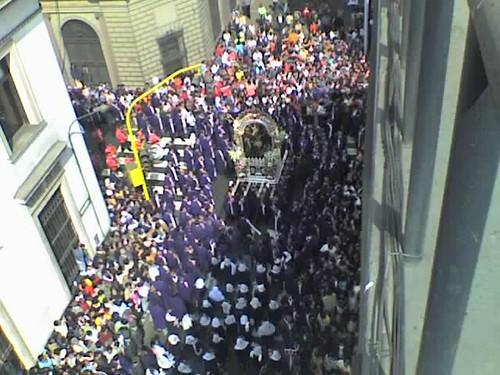 procesión del señor de los milagros