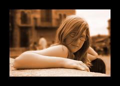 Megan in Girona