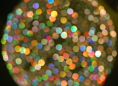 nebula (kela) Tags: abstract colors glitter lights rainbow blurry pretty bokeh chandelier nebula prisms shimmer    artlegacy okaybokeh