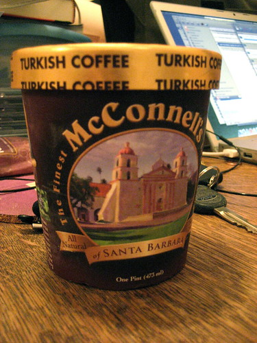McConnell's Turkish Coffee ice cream