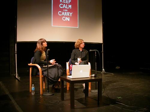 Maira Kalman, Tracey Tannenbaum at First Person Festival