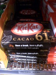 61% chocolate KitKat