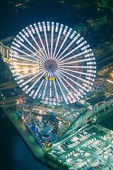 Yokohama #01 (*toki) Tags: japan canon iso100 kodak 100mm  yokohama ektachrome e100vs  ef landmarktower f20 eos7s