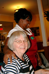 Gmommy with one of her favorite caregivers