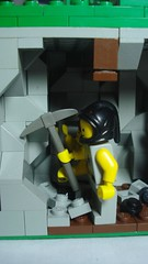 Miners... Again (remyth) Tags: industry mine lego coal coalmine moc cccv
