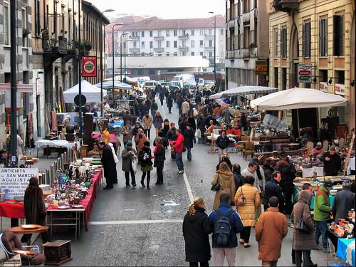 Flea Market, Milan