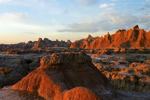 Sunrise at the Badlands