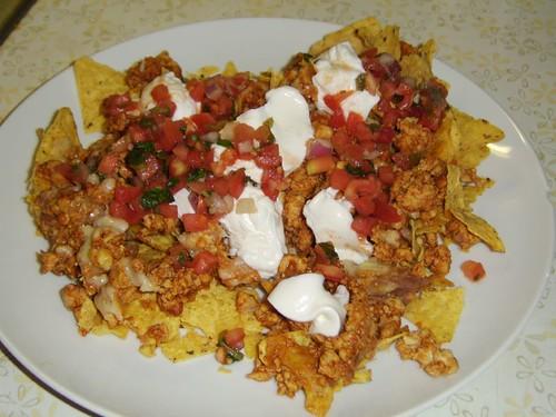 Chicken Nachos - Dinner 12/1/2007
