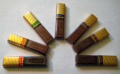 Merci Chocolate - flavors