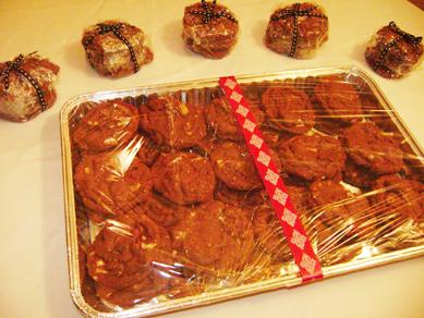 double chocolate coffee cookies
