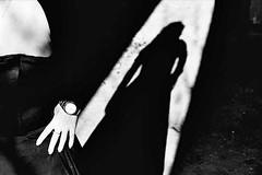 I'm looking for you VI (About a Majordomo) Tags: light shadow bw white black contrast project model sara ombra bianco nero luce modella 25faves laperegina imlookingforyou espressionidellanima