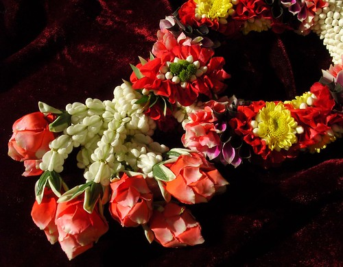 flower garland....for YOU...:))