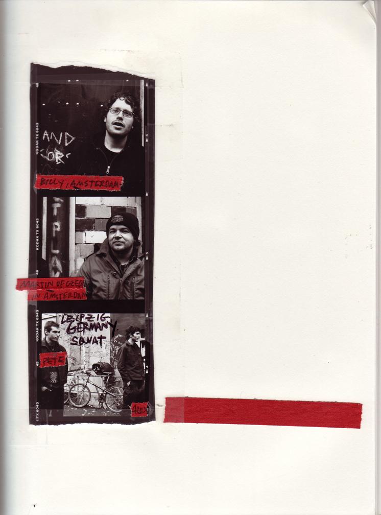 TOUR, EUROPE, 2001