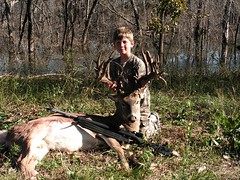 Huge buck (mountain madman) Tags: nature giant deer antlers buck whitetail muzzleloader nontypical whitetailbuck