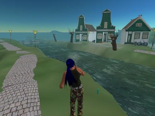 Second Life: mooi Holland