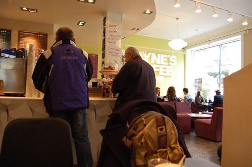 スウェーデンに多い、Wayne's Coffee