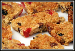 Fruity Coconut Oat Flapjacks