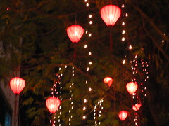 Tet lanterns Dong Khoi, HCMC (amasc) Tags: lighting streets public lights downtown traffic central vietnam celebration tet saigon hcmc