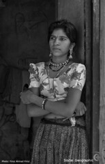 Save the Girl Child-00060 (Social India) Tags: poverty portrait woman india blackwhite asia humanity photojournalism makepovertyhistory society photoessay extremepoverty humancondition developingworld whiteband indianwoman peoplesportrait righttoeducation savethegirlchild naturalbeautyportraiture firozahmadfiroz socialgeographic stopfemaleinfanticide righttofoodheath socialawarness socialattitudes blackwhitepotrait saynotosexselectionandfemalefoeticide saynotodowry saynotoviolenceagainstwomen