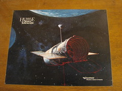 Hubble (ademrudin) Tags: umn universityofminnesota hubblespacetelescope canonpowershots3is abandoneddesk lockheedmissilesspacecompany tatelabs