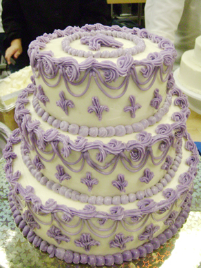 Marcus' class cake