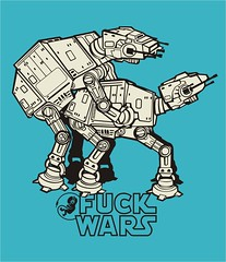 Fuck Wars (jabson.rodrigues) Tags: illustration graphicdesign starwars fuck drawing dibujo tshirtdesign ilustrao ilustracion estampa jabson