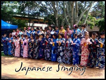 Japanese Singing