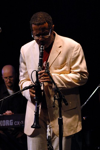 Don Byron on clarinet