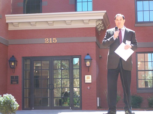 Jim Abdo, Grand Opening, Landmark Lofts, H Street NE
