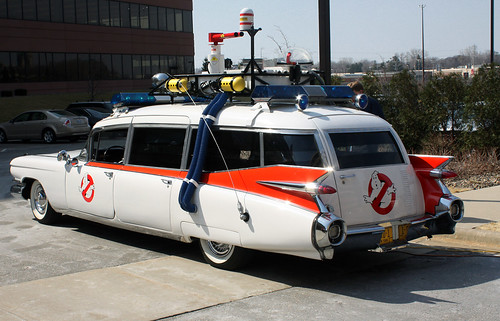 Original Ecto 1 Ghostbusters Car On Ebay