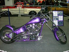 2004 Harley Davidson Custom Pro Street (blondygirl) Tags: 2004 purple autoshow harleydavidson motorcycle carshow prostreet poweramamotorshow harleydavidsoncustomprostreet harleydavidsoncustom 1000ormoreviews